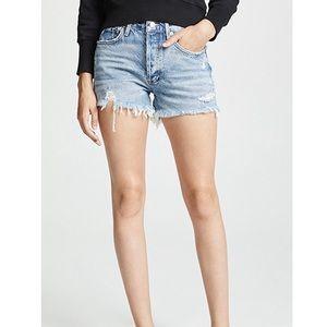 Agolde Parker vintage jean shorts Swapmeet